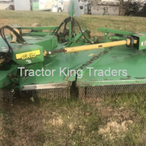 USED JD CX15 ROTARY CUTTER